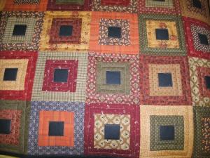 Cinnamon & Spice Table Runner made from Jo Morton's new fabrics