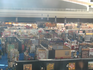 a view of quilt market