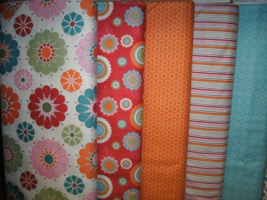 this should tempt you just a little...New fabrics from Riley Blake Designs